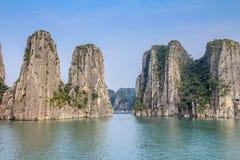 Halong-Bucht, Vietnam Lizenzfreie Stockbilder