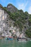 Halong-Bucht - Vietnam Stockbild