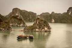 Halong Schacht, Vietnam Lizenzfreies Stockbild
