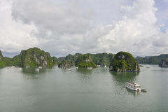 Halong Schacht, Vietnam lizenzfreie stockfotografie
