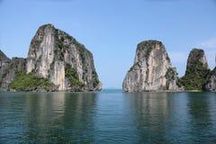 Halong Schacht, Vietnam Stockbilder