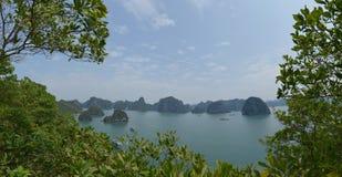 Halong Schacht, Vietnam lizenzfreies stockfoto