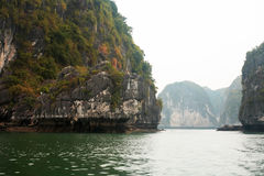 Halong Schacht in Vietnam Stockfoto