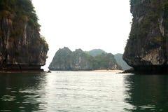 Halong Schacht in Vietnam Stockfotos