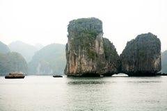 Halong Schacht in Vietnam Lizenzfreies Stockbild