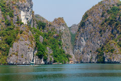 Halong Schacht in Vietnam Lizenzfreies Stockfoto