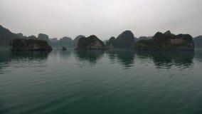 halong Vietnam de compartiment photos stock