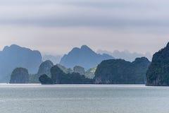 halong Vietnam de compartiment Photographie stock libre de droits