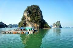 halong Vietnam de compartiment Photo libre de droits