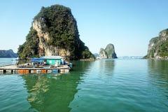 halong Vietnam de compartiment Image libre de droits