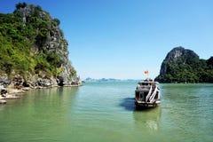 halong Vietnam de compartiment Image stock