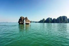 halong Vietnam de compartiment Photo stock