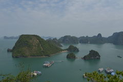 halong Vietnam de compartiment Photos stock