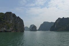 halong Vietnam de compartiment Photos libres de droits