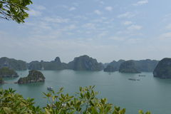 halong Vietnam de compartiment Images libres de droits