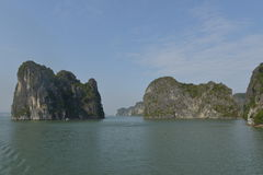 halong Vietnam de compartiment Photographie stock