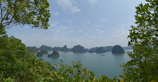 halong Vietnam de compartiment Photo libre de droits