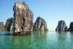 halong Vietnam de compartiment Images libres de droits
