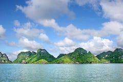 Halong Zatoka Zdjęcie Royalty Free
