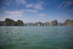Halong Zatoka Zdjęcie Stock