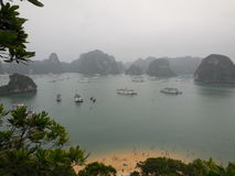 Halong zatoka - Wietnam Obraz Royalty Free