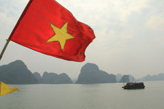 Halongbaai - Vietnam Royalty-vrije Stock Foto