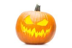 Halooween-pumpkin& x27; s-Grinsen Lizenzfreies Stockfoto