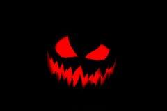 Halooween pumpkin's grin Royalty Free Stock Photography