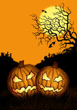 Haloween background Royalty Free Stock Image