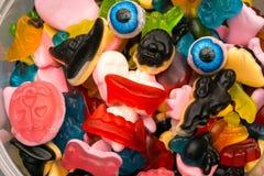Haloween candy monster eyeballs Stock Photography