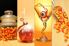 Haloween Collage royalty free stock photo
