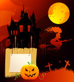 Haloween dark back Stock Photo