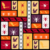 Haloween pattern Stock Image