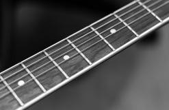 Hals einer Gitarre Stockfotos
