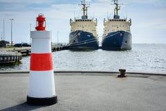 Hals hamn, Danmark Royaltyfria Foton
