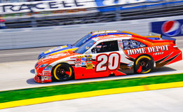Hals NASCAR en Hals! Royalty-vrije Stock Foto's