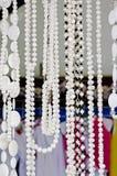 Halsband av pärlor Arkivfoton