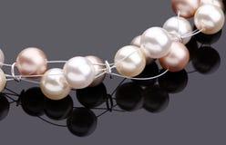 Halsband av pärlor Royaltyfri Foto