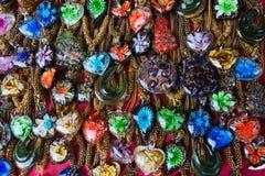Halsband med epoxy kåda royaltyfria bilder