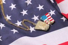 Halsband med statyn av frihet Royaltyfria Foton