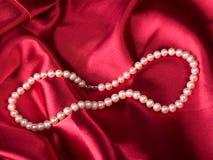 Halsband van parel Stock Afbeeldingen