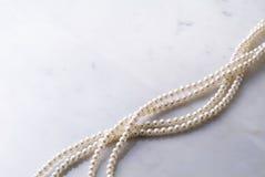 Halsband van parels stock fotografie