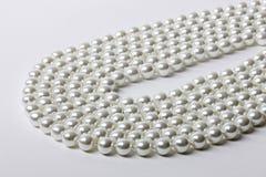 Halsband van parels royalty-vrije stock afbeelding