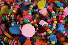 Halsbanden van kleuren Stock Afbeeldingen