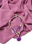 Halsbandet på en hals royaltyfri fotografi