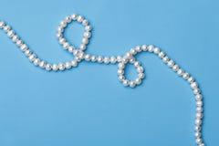 halsbandpärlor Royaltyfri Foto