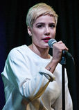 Halsey. October 19, 2015 - American Singer-Songwriter Halsey Performs at Q102's Performance Theatre in Bala Cynwyd, Pennsylvania, United States Stock Image