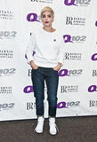 Halsey. October 19, 2015 - American Singer-Songwriter Halsey Poses at Q102's Performance Theatre in Bala Cynwyd, Pennsylvania, United States Stock Photography