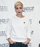 Halsey. October 19, 2015 - American Singer-Songwriter Halsey Poses at Q102's Performance Theatre in Bala Cynwyd, Pennsylvania, United States Stock Photos