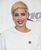 Halsey. October 19, 2015 - American Singer-Songwriter Halsey Poses at Q102's Performance Theatre in Bala Cynwyd, Pennsylvania, United States Royalty Free Stock Image